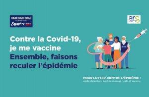 Campagne de vaccination Covid 19, en Seine Saint Denis.